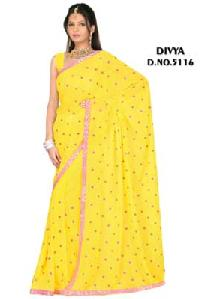 Embroidered Sarees - 5116