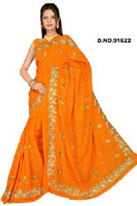 Embroidered Sarees - 91622