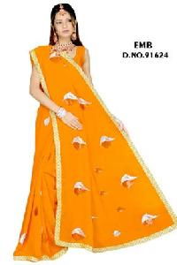 Embroidered Sarees - 91624