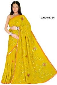 Embroidered Sarees - 91764