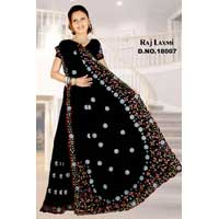 Raj Laxmi D. No. 18007 Embroidered Sarees