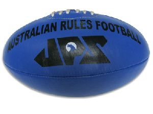 Blue PU Meterial Aussie Rules Football