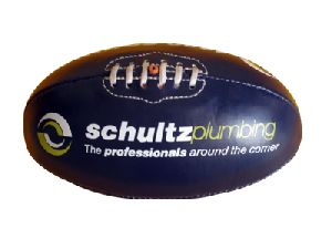 Blue PVC Material Aussie Rules Foot Ball