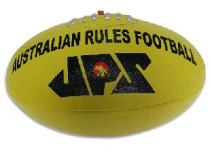 Yellow PU Meterial Aussie Rules Football