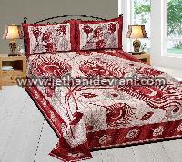 Velvet Bed Sheet 09