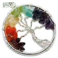 Chakra Pendants - 7 Chakra Tree of Life Pendant