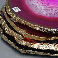 Gold Plate Onyx
