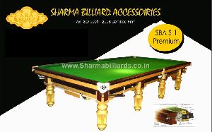 S-1 Premium Snooker Table