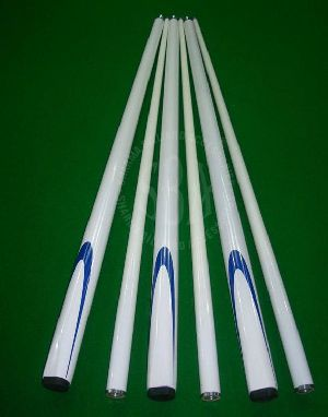White Graphite Cue Stick