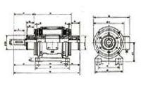Single Shaft Clutch Brake