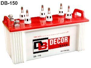 DB-150 Flat Plate Inverter Battery