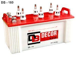 DB-180 Flat Plate Inverter Battery
