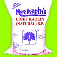 BP Grade Light Kaolin Powder