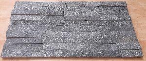 Black Galaxy Interlock Panel 15 x 60 Cm