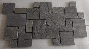 Black Lime French Pattern Castle Stone