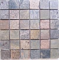 Golden 48 Mm Honed Mosaic Tile