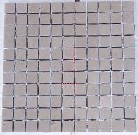Mint 25 Mm Honed Mosaic Tile