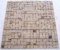 Mint Contrigameo 48 Mm Natural Tumbled Mosaic Tile