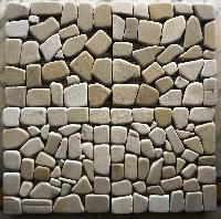 Mint Crazy Tumbled Mosaic