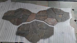 Multi Stone Interlock Fieldstone Pattern