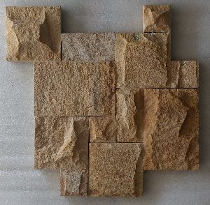 Teak Rockface Castle Stone French Pattern