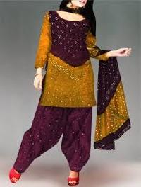 bandhej salwar suits