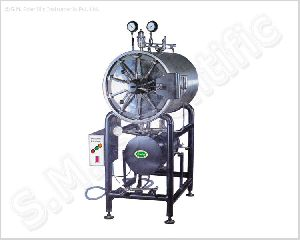H.P. Cylinderical Horizontal Sterilizer