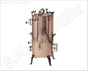electrically heated vertical steam sterilizer