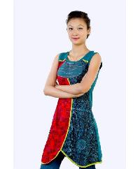 Cotton Sleeveless Kurti