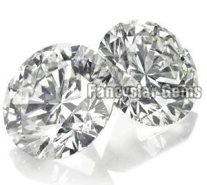 2 Carat Round Brilliant Cut Natural Diamonds