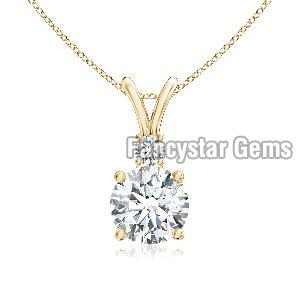 925 Silver Diamond Pendants