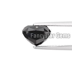 Cushion Cut Natural Black Loose Diamond (11)