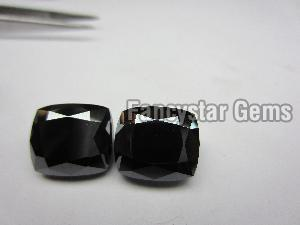 Cushion Cut Natural Black Loose Diamond (14)