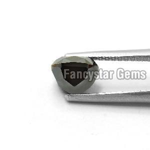 Cushion Cut Natural Black Loose Diamond (4)