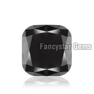 Cushion Cut Natural Black Loose Diamond (7)