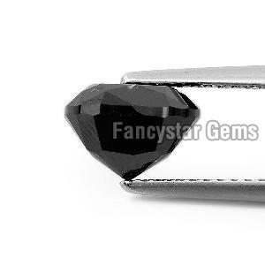 Cushion Cut Natural Black Loose Diamond (8)