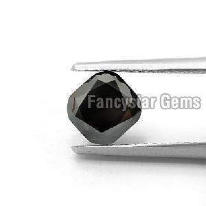 Cushion Cut Natural Black Loose Diamond (9)
