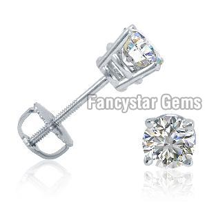 Designer Diamond Stud Earrings