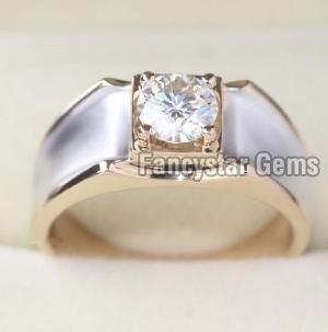 Genuine Moissanite Engagement Ring 05