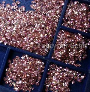 Pink Color Loose Diamond  05