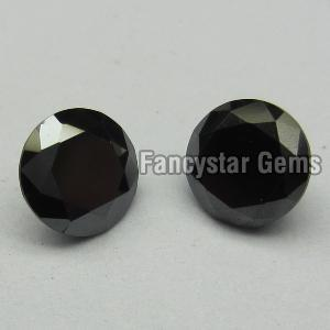Round Black Diamond 02