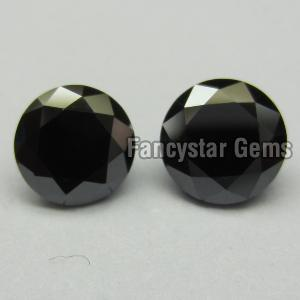 Round Black Diamond 05