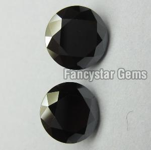 Round Black Diamond 06
