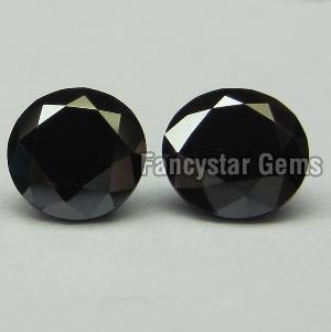 Round Black Diamond 11