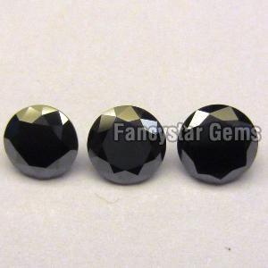 Round Black Diamond 14
