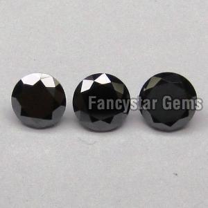 Round Black Diamond 15