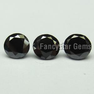 Round Black Diamond 16