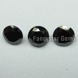 Round Black Diamond 18