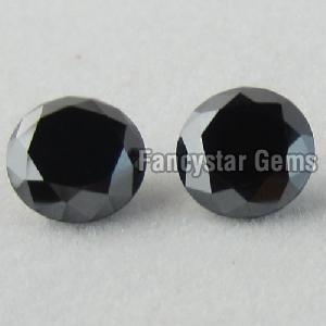 Round Black Diamond 23