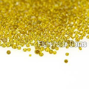 Yellow Color Loose Diamond 03